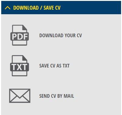 CV Maker Bahasa Indonesia download cv pdf