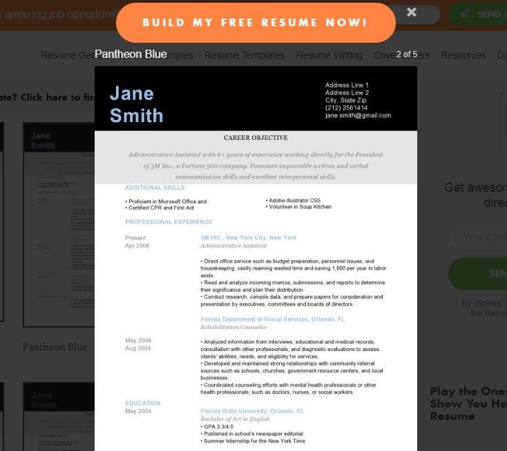 Langkah-langkah pembuatan cv online