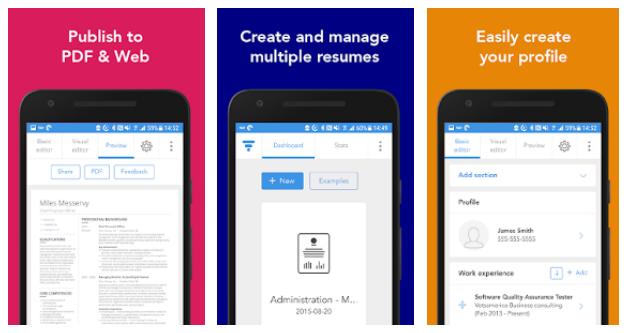 5 Aplikasi Membuat CV via Android Kamu
