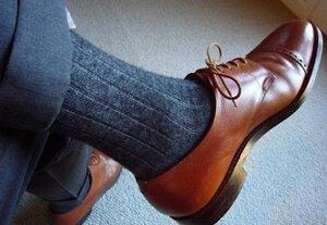 Kaos kaki saat wawancara kerja