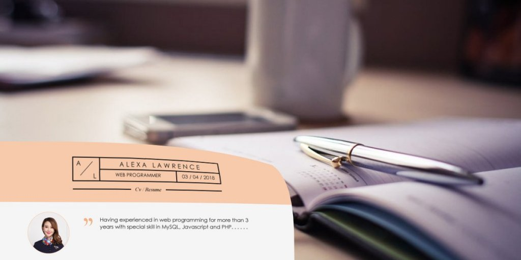 Contoh CV Sederhana, Elegan dan Profesional