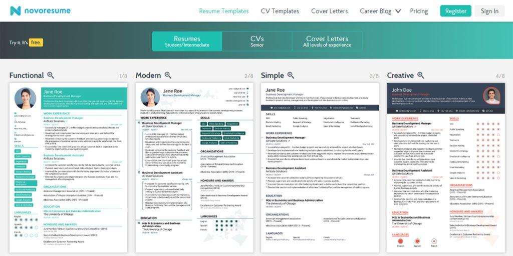 Cara Membuat Resume Online Gratis