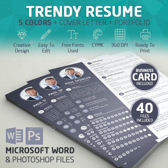 Trendy Resume