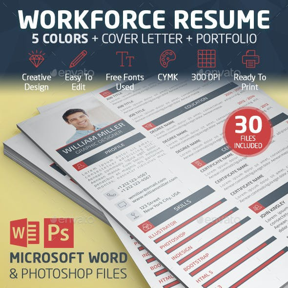 Workforce resume