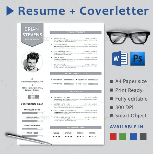 the creative resume