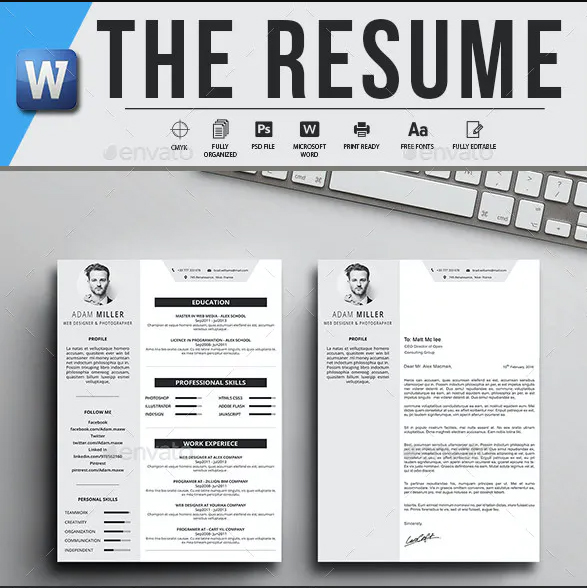 the resume logotex